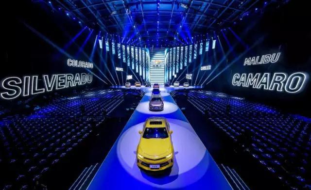 探界者/科迈罗RS等多款车型亮相雪佛兰之夜