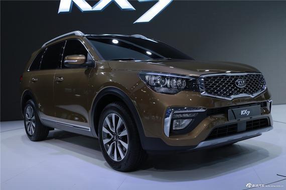 曝起亚多款新车计划 KX7将2017年3月上市