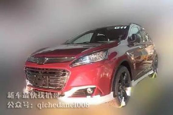 换装PSA发动机 纳智捷优6 SUV改款谍照