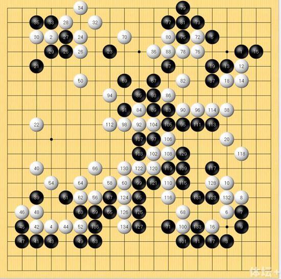 架子鼓乐谱逆战手乐谱-图二,黑181透点是小芈逆转的第一步,这手棋很难想象得到,白棋竟