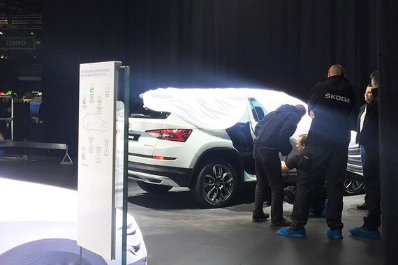 2017日内瓦车展探馆:柯迪亚克Scout