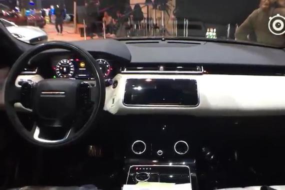 视频:实拍路虎全新SUV星脉内饰