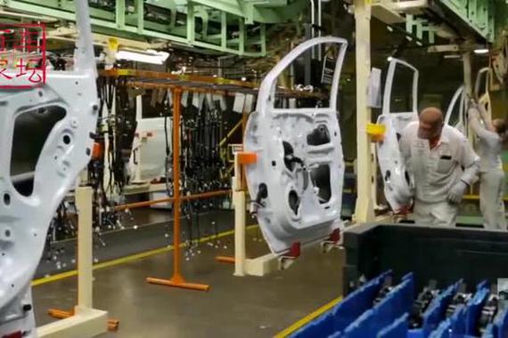 本田CR-V生产、组装全过程!
