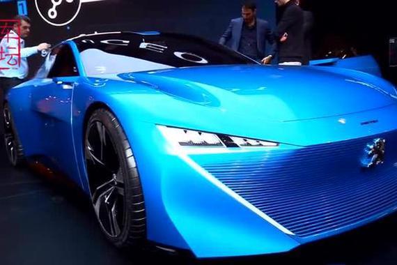 视频:标致的未来,对开门+自动驾驶!