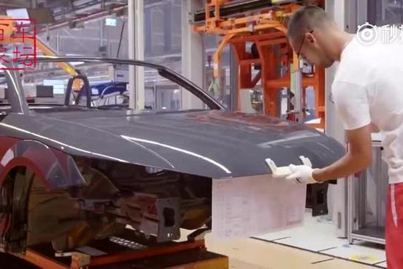 奥迪TT RS生产、装配全过程!