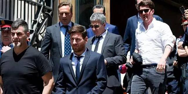 梅西偷税案上诉失败 被判21个月监禁