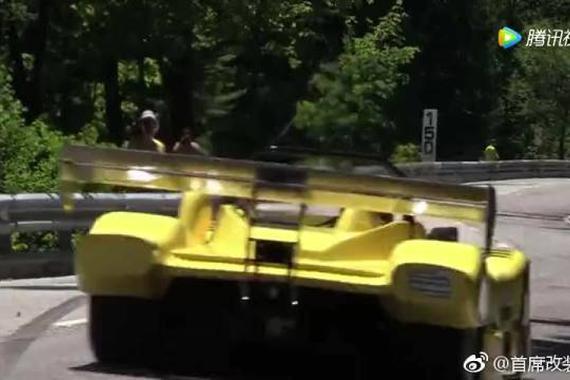 视频:实拍改装赛车山路飚车,声浪迷人