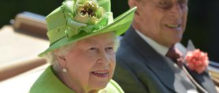 英国女王隆重出席皇家赛马会