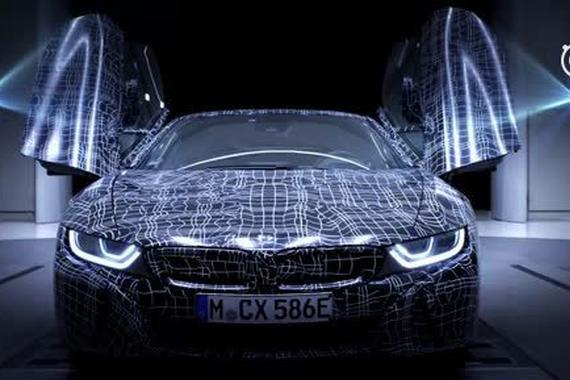 新宝马BMW i8 Roadster预告