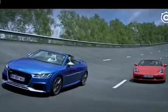奥迪TT RS对比718 Boxster S