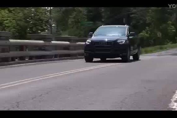 新款奥迪Q7 官方试驾