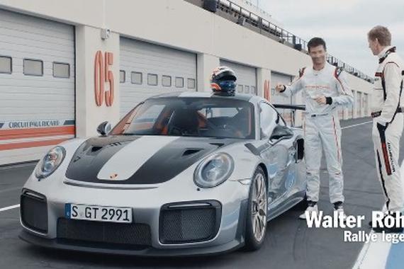 保时捷911 GT2宣传片欣赏!