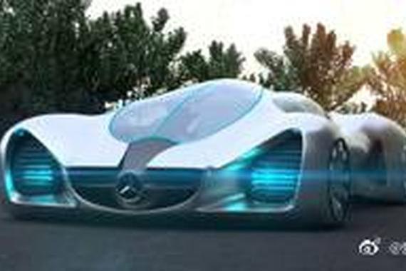 视频:奔驰重金打造超级跑车,轮子就是四个涡轮
