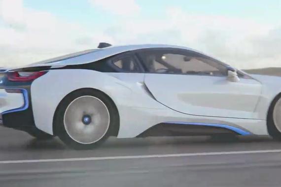 新款宝马i8技术展示