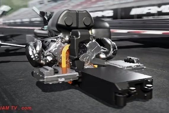 AMG Project One 内外观详细看,奔驰终于做到把F1发动机放到民用车了