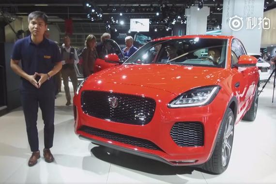 视频:法兰克福车展 捷豹入门级豪华紧凑型SUV——E-PACE。