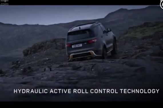 视频:路虎家族的首款SVX车型第五代路虎发现SVX