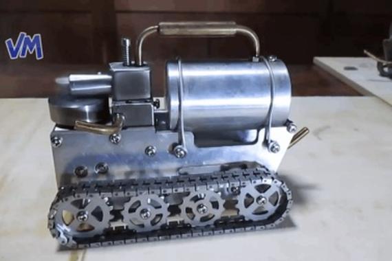 视频:20个有趣的的微型DIY<em>发动机</em> ,各种原理和<em>机型</em>都有哦!