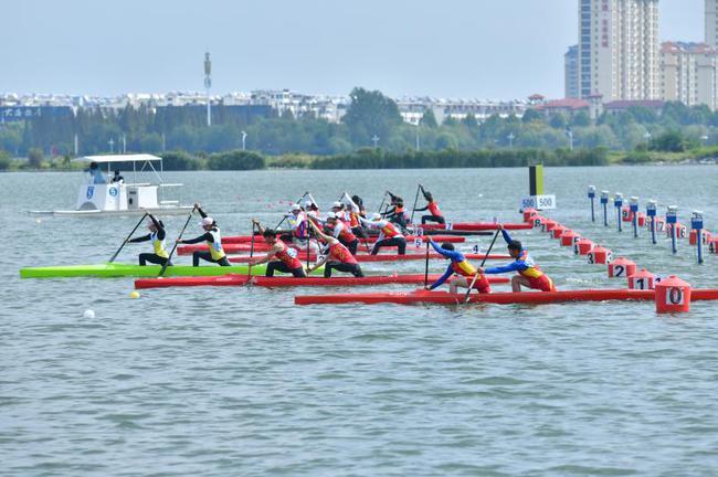 2018全国皮划艇静水锦标赛顺利召开,选手齐聚临沂。