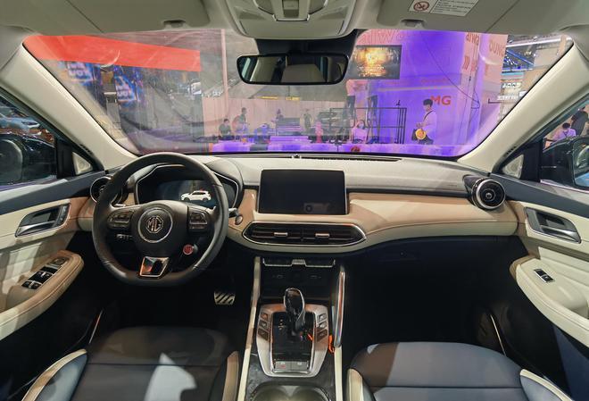 2020广州车展探馆:全新名爵MG领航PHEV实车亮相