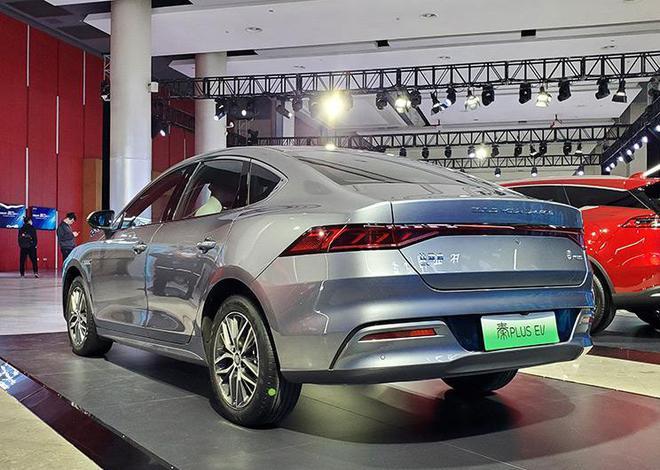 售12.98-16.68万元 比亚迪秦PLUS EV正式上市