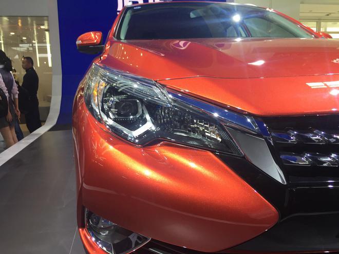 2018北京车展:新款启辰T90亮相