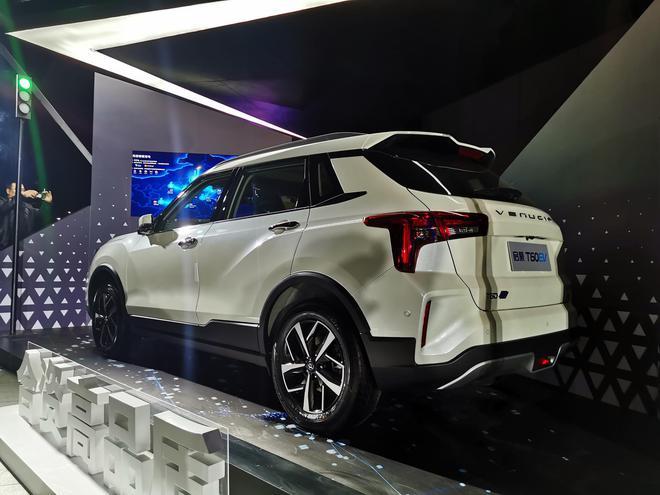 东风启辰T60 EV正式上市 补贴后售价13.88-15.68万元