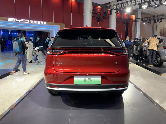 售27.95-31.48万元 新款比亚迪唐EV正式上市