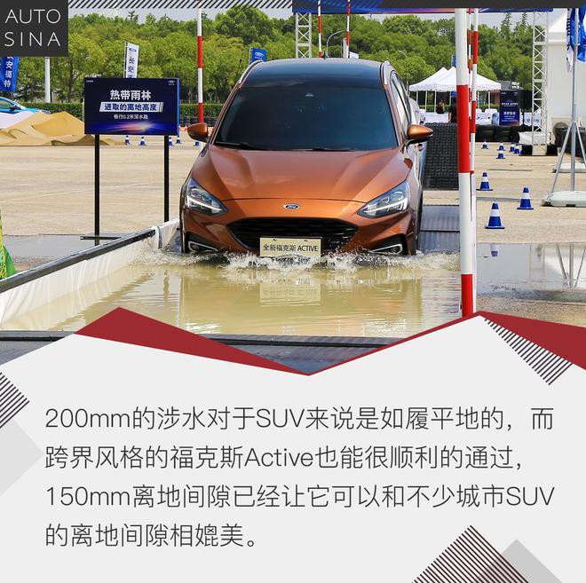 福克斯Active有惊喜 福特四款新车初体验