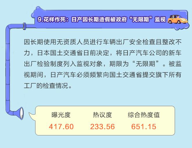 数说|共享出行再添新政 日本制造遇口碑危机