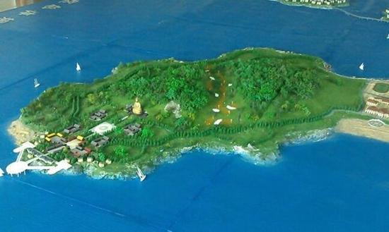"""兴城觉华岛又名菊花岛,是辽东湾最大的岛屿,素有""""北方佛岛""""之称,有南"""