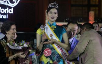 95后女孩当选世界小姐中国总冠军
