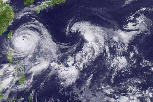"""今年第10号台风""""安比""""进入辽宁 未来两日将有强降雨"""