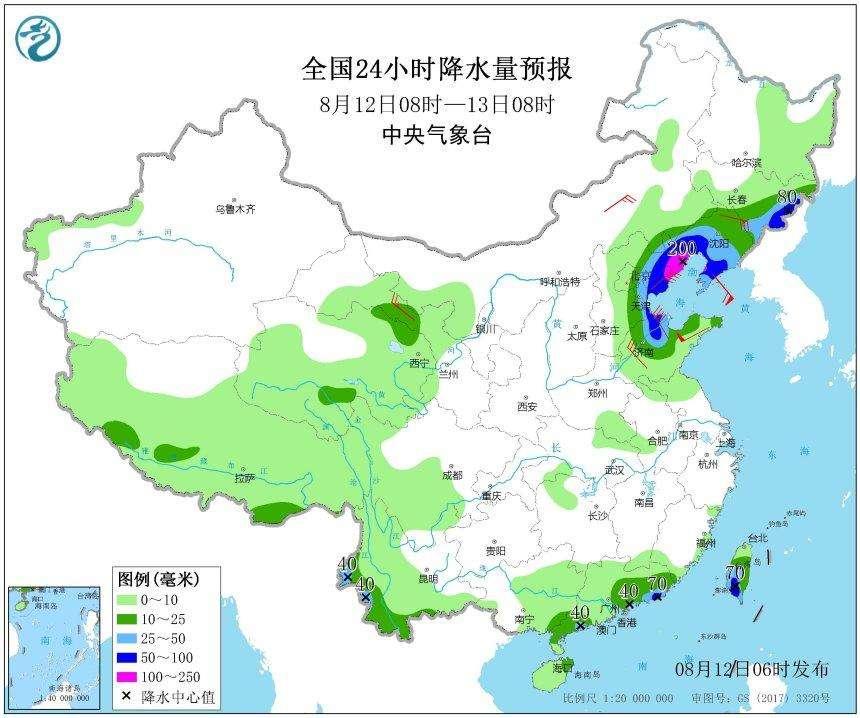 """""""利奇马""""造成辽宁36万余人受灾 未接到人员伤亡报告"""
