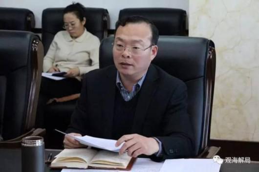 图片说明:拟提任副市长的张东明