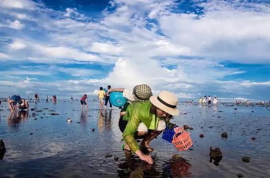 2017辽宁赶海地图送你挑:      要说大连可以亲海的沙滩,那真是不