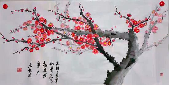 书画家詹艳敏:一笔一划皆情怀