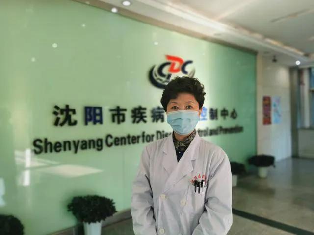 沈阳市疾病预防控制中心副主任王萍接受辽报记者采访