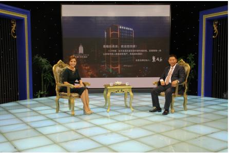 上海美豪酒店管理股份有限公司董事长龚兆庆做客《对话新时代》栏目