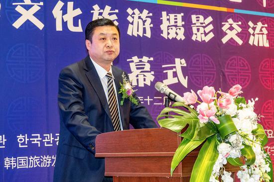 辽宁省文化和旅游厅副厅长申景广致祝辞