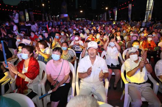 丝竹悠扬霓虹绚烂 蒲河之夜——2020沈北新区文化艺术节隆重开幕
