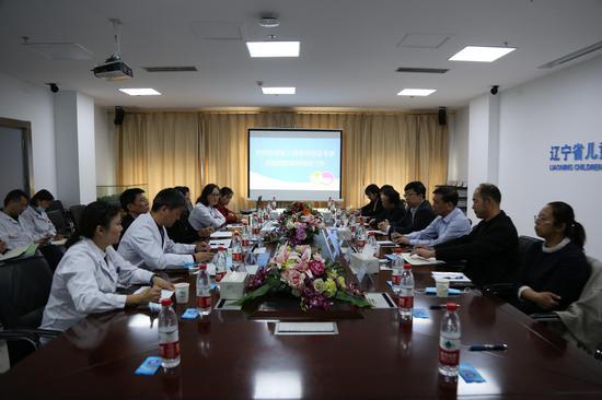 辽宁省卫健委副主任董德刚一行到 沈阳市儿童医院调研指导工作
