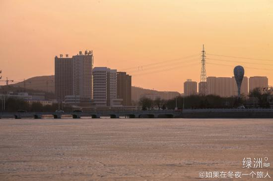 暮冬下的锦州