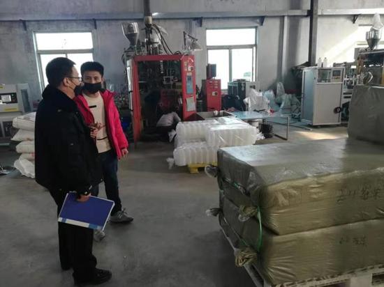 """沈北兴隆台街道:落实""""四个一"""" 助力企业开复工"""