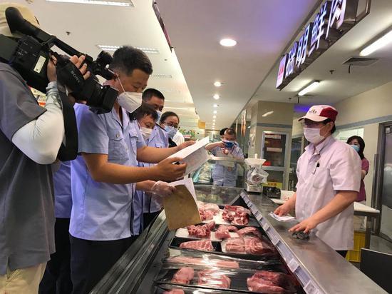 大连市局领导带队重点检查生鲜进口水产品销售情况