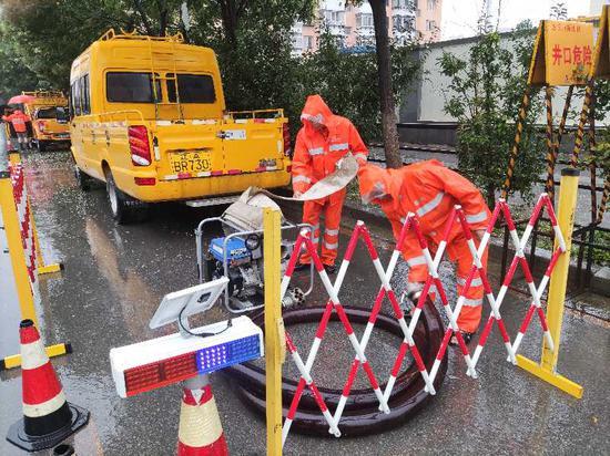沈阳水务集团迅速反应 全面防御强降雨