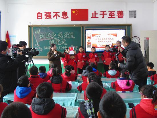 """""""学党史,做时代新人"""" 锦州市中小学生上好开学第一课"""