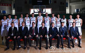 沙龙365男篮新赛季宣传照 颜值爆表