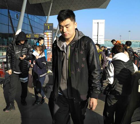 李晓旭将随队一起去乌鲁木齐,不过他目前只能观战