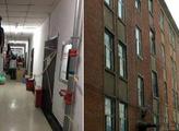 东北某高校公寓成危楼只搬走一半人 校方:局部问题